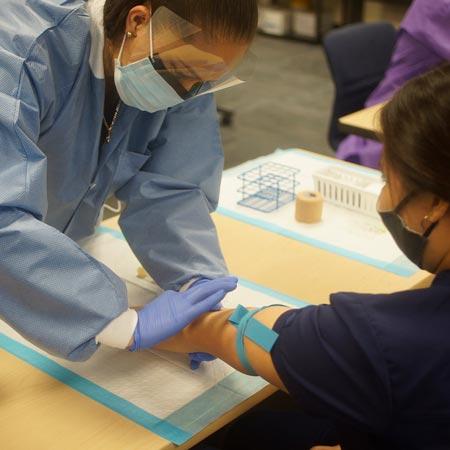 Phlebotomy Students